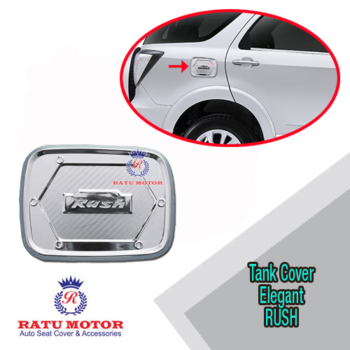 Tank Cover New RUSH 2015-2016 Model Elegant Chrome