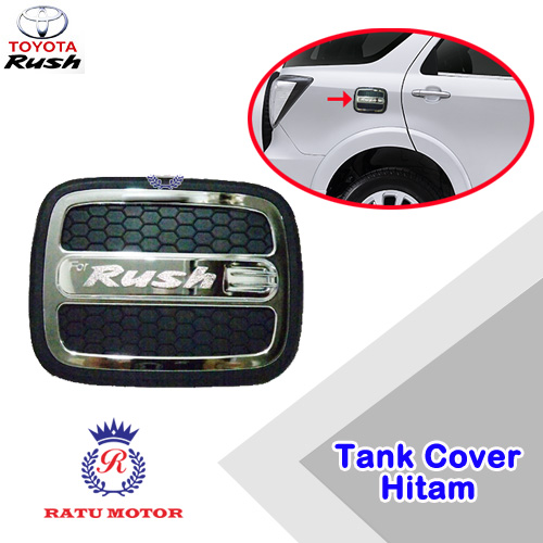 Tank Cover RUSH 2005-2017 All Varian Model Luxury Hitam