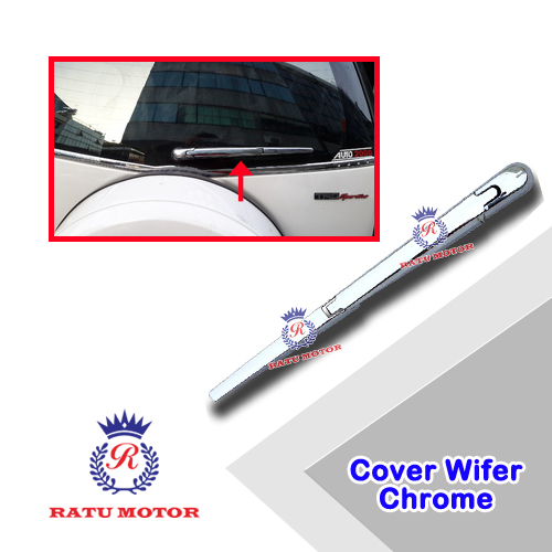 Cover Wiper Belakang RUSH 2005-2017 All Varian Chrome