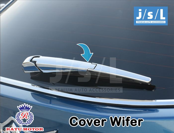 Cover Wiper Suzuki IGNIS 2017 Chrome