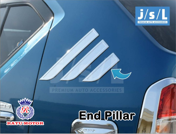 End Pillar Suzuki IGNIS 2017 Chrome