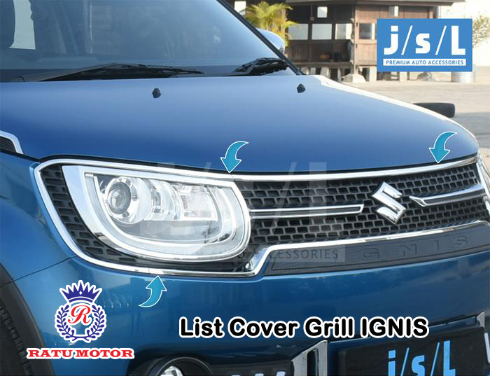 List Cover Grill Suzuki IGNIS 2017 Chrome