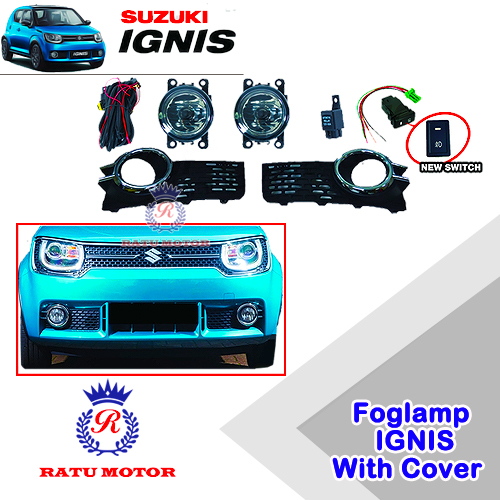 Foglamp Set Suzuki IGNIS 2017 + Cover