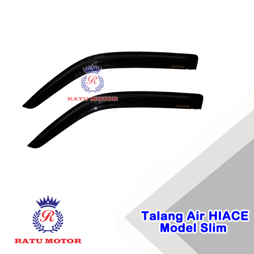 Talang Air HIACE COMMUTER 2015-2017 Model Slim 2Pcs
