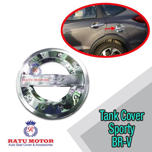 Tank Cover BRV Model Sporty Chrome