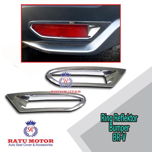 Ring Reflektor Bumper BRV Chrome