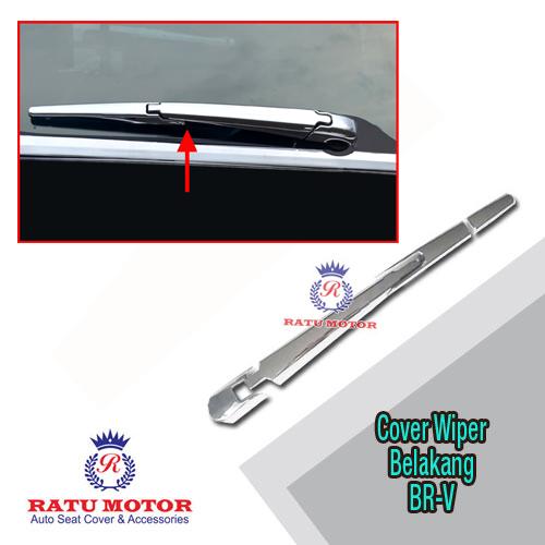 Cover Wiper Belakang BRV Chrome