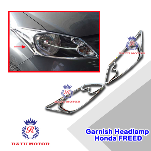 Garnish Headlamp Honda FREED All Varian