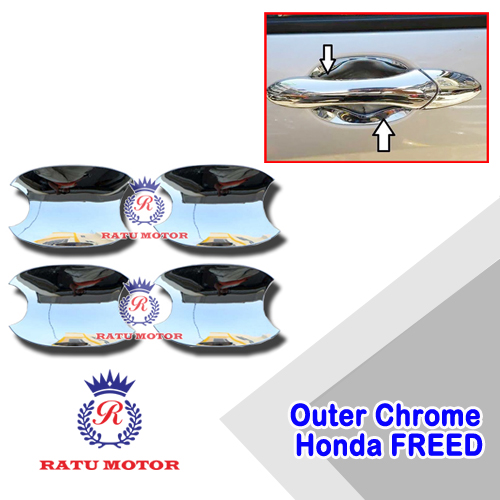 Outer Handle FREED 2008-2018 Chrome