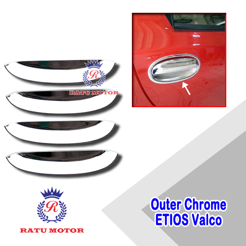 Outer Handle Toyota ETIOS Chrome