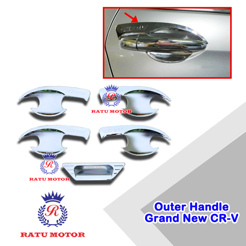 Outer Handle Honda Grand CRV 2015 (5 Pcs) Chrome
