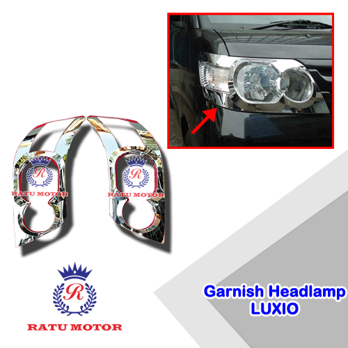 Garnish Headlamp LUXIO Chrome
