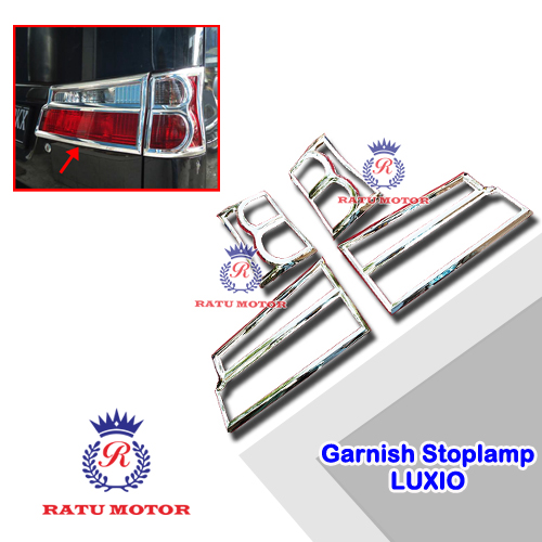Garnish Stoplamp LUXIO Chrome