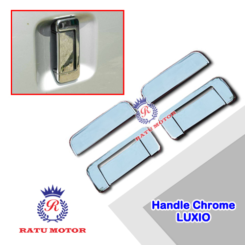 Cover Handle  LUXIO Chrome 4 Pcs