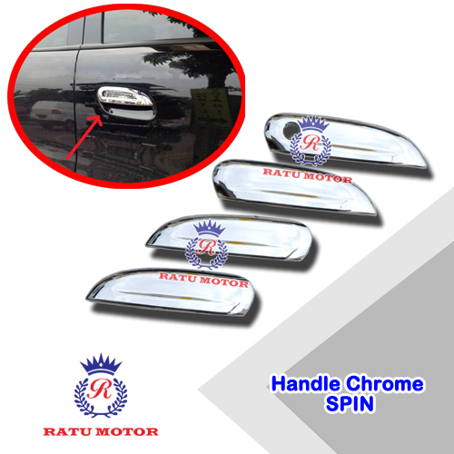 Cover Handle SPIN (5 Pcs) Chrome