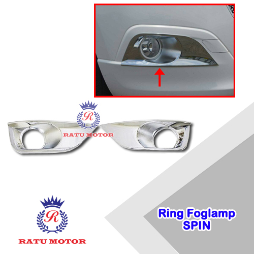 Ring Foglamp SPIN Chrome
