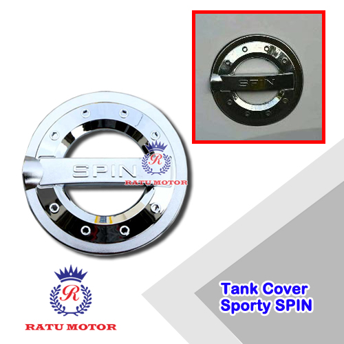 Tank Cover SPIN Model Sporty Chrome