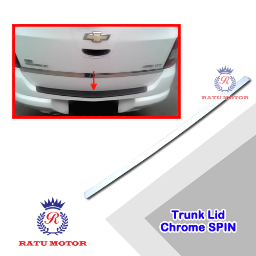 Trunk Lid SPIN Chrome