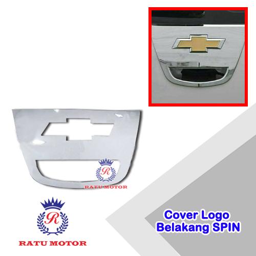 Cover Logo Belakang SPIN Chrome