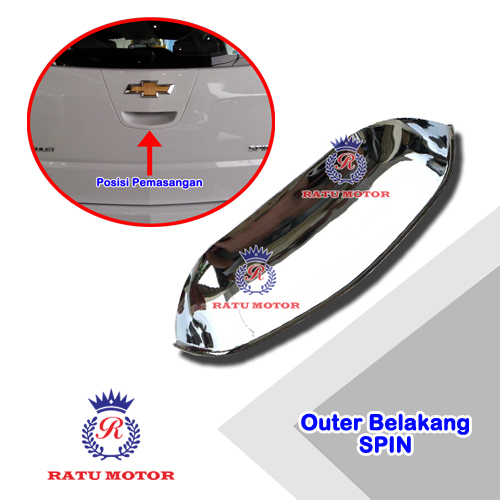 Outer Handle Belakang Chevrolet SPIN Chrome