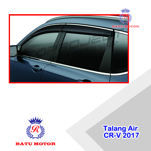 Talang Air All New CRV 2017-2019 Turbo model Injection + List Chrome