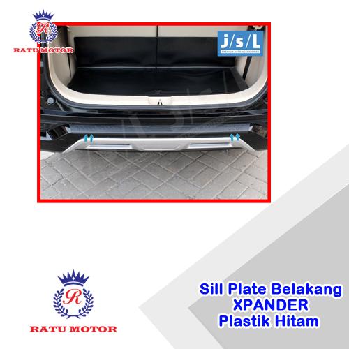 Sill Plate Belakang XPANDER 2017-2018 Plastik Hitam