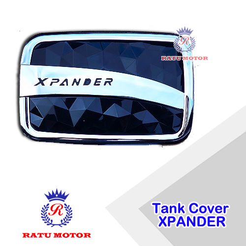 Tank Cover XPANDER 2017-2018 Crosstivo Hitam/Chrome