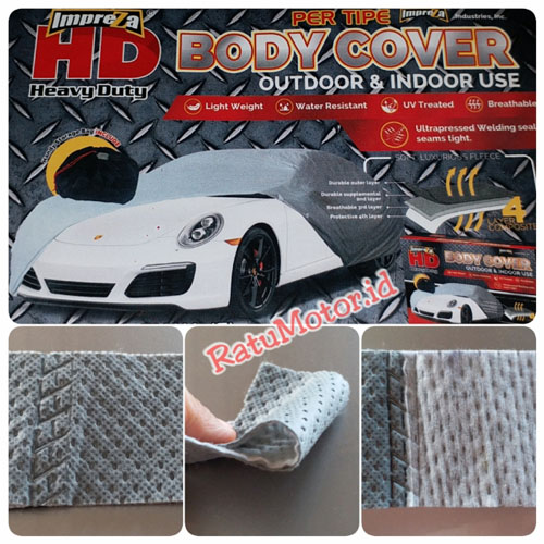 Body Cover IMPREZA HD For Toyota C-HR 2018 Waterproof 4 Layers