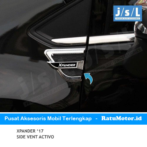 Side Vent XPANDER 2017-2018 Hitam Chrome