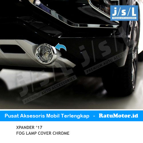 Cover Foglamp XPANDER 2017-2018 Chrome