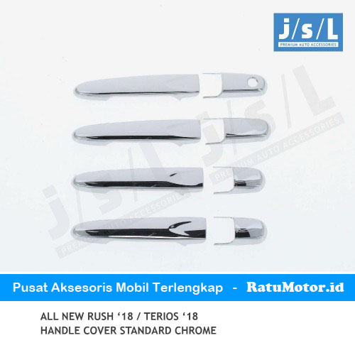 Cover Handle All New RUSH 2018-2019 Chrome w/o Keyless Entry