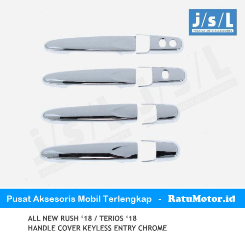 Cover Handle All New RUSH 2018-2019 Chrome with Keyless Entry