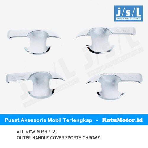 Outer Handle All New RUSH 2018-2019 Model Sporty Chrome