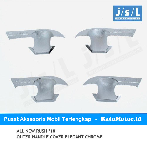 Outer Handle All New RUSH 2018-2019 Model Elegant Chrome