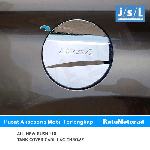 Tank Cover All New RUSH 2018-2019 Model Cadillac Chrome