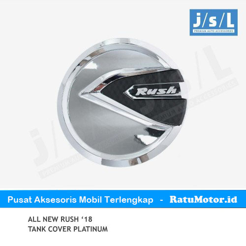 Tank Cover All New RUSH 2018-2019 Model Platinum Chrome