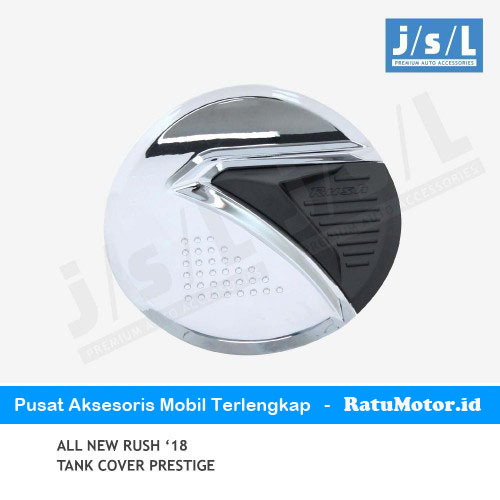 Tank Cover All New RUSH 2018-2019 Model Prestige Chrome