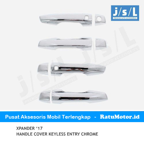 Cover Handle XPANDER 2017-2019 Chrome with Keyless Entry
