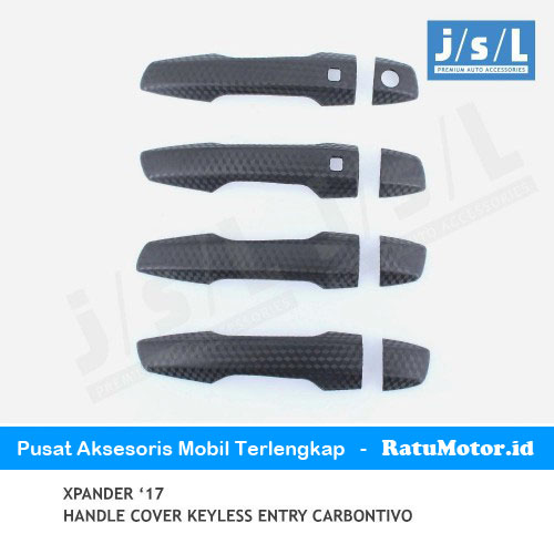 Cover Handle XPANDER 2107-2019 Carbontivo with Keyless Entry