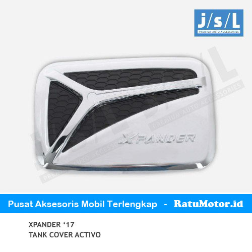Tank Cover XPANDER 2017-2019 Model Activo Black/Chrome