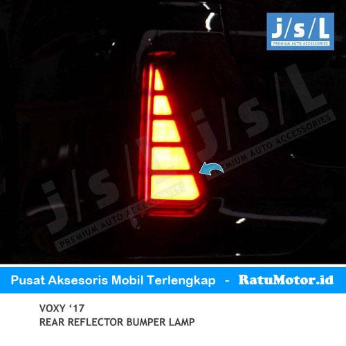 Lampu Reflektor Bumper VOXY 2017 LED
