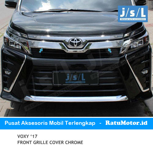 Cover Grill Atas VOXY 2017-2019 Chrome