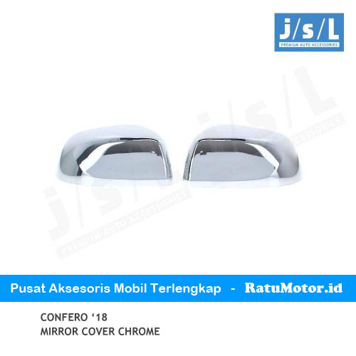 Cover Spion Wuling CONFERO 2018 Chrome w/o Lamp
