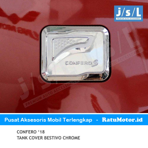 Tank Cover Wuling CONFERO Model Bestivo Chrome
