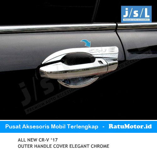 Outer Handle All New CRV 2017-2019 Turbo Model Elegant Chrome