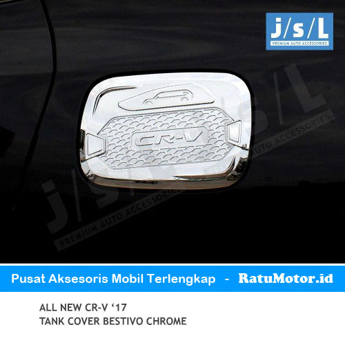 Tank Cover All New CRV 2017-2019 Turbo Model Bestivo Chrome