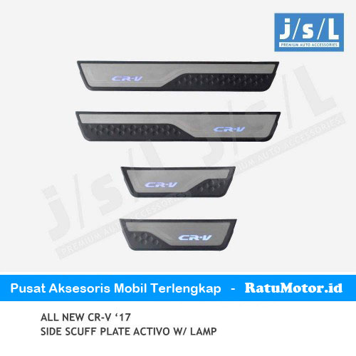 Sill Plate Samping All New CRV 2017-2019 Turbo Model Activo w/ Lamp