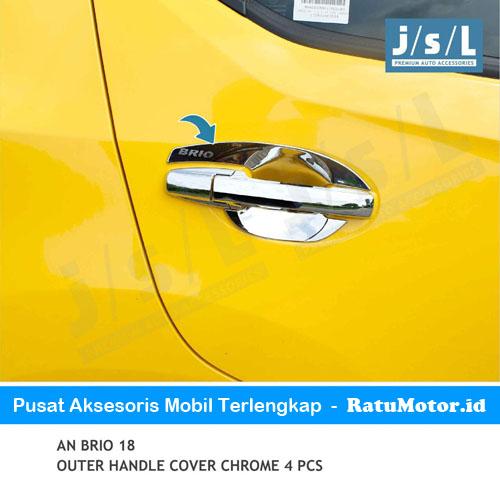 Outer Handle BRIO 2019-Up Model Biasa Chrome