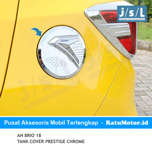 Tank Cover BRIO 2019-Up Model Prestige Chrome