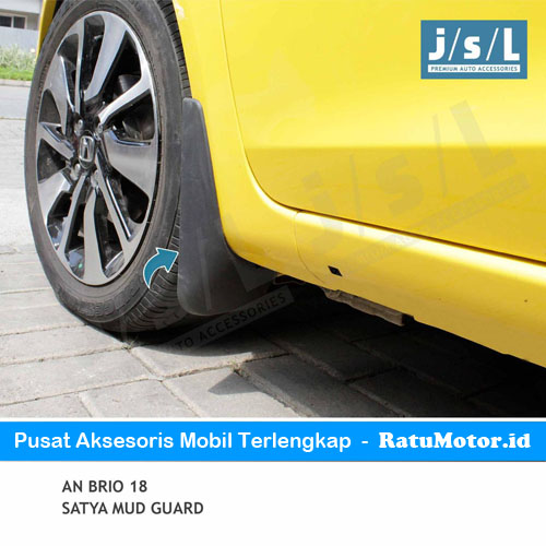 Mud Guard (Karpet Roda) BRIO 2019-Up Satya Karet Hitam